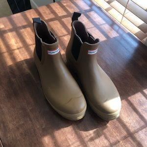 Men's Hunter Chelsea rain boots size 13